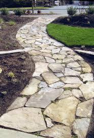 Flagstone Patios And Walkways Garden Walkways Design Home Outdoor Decoration