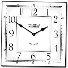 Modern Bedroom Wall Clocks Home Design Large Square Metal Wall Clocks Modern Compact The