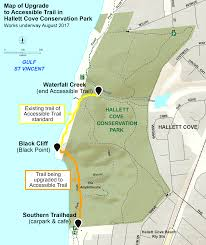 Glacier Park Map Accessible Trail To Be Built In Hallett Cove Conservation Park