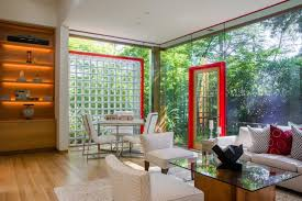 sparkling inside and out a glass house shines in menlo park