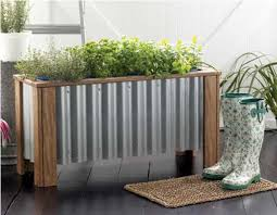 herb planter boxes 35 herb container gardens pots u0026 planters saturday inspiration