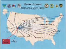 Map Of Southern Utah by Southern Utah Spice Bust Part Of Historic Nationwide Take Down