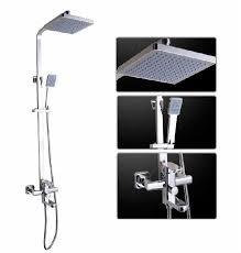 Shower Sets For Bathroom Shop Bathroom Shower Sets High Quality Bathroom Square