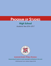 lcps 2016 2017 high program of studies by kevin terry issuu