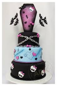 Cool Halloween Birthday Cakes by Best 25 Monster High Cookies Ideas On Pinterest Monster High