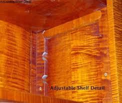 Adjustable Shelves Bookcase Eric Johnson U0027s Furniture Weblog Adjustable Shelf Supports