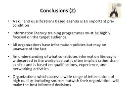 improving information skills in the workplace an overview of researc u2026