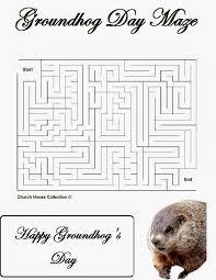 groundhog day activities for preschool goundhog day mazes