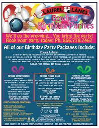 children u0027s parties laurel lanes