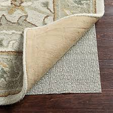 cushioned rug pad for hard floors ballard designs