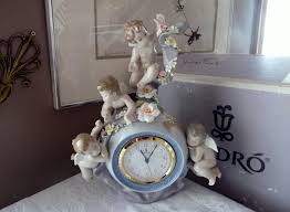 lladro spain 5973 retired and rare angelic time flowers 4 zoom