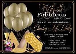 50th birthday invitation free printable invitation design