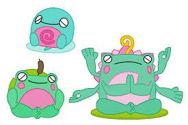 zen frog fakemon by pokequaza on deviantart