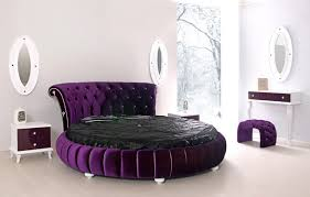 chambre avec lit rond lit rond au cœur d une chambre au design original lit rond