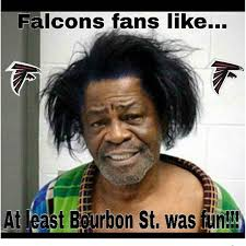 Saints Falcons Memes - with the falcons storming out to a 5 0 record and their bitter