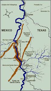 where is terlingua on a map santa of the grande