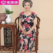 elderly woman clothes buy elderly women summer dress and sections dress