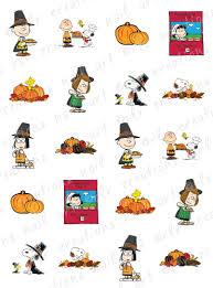 peanut character thanksgiving clip 101 clip