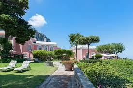 villa bismark an extraordinarily unique location in capri