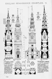 english renaissance church steeple a history of architecture on