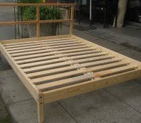 2x4 queen bed frame free platform plans diy headboard with lights