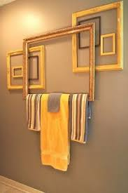 bathroom towel rack decorating ideas a diy towel rack with recycled materials 20 ideas to inspire you