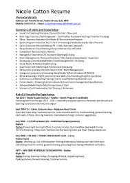 Ready Fill Up Resume Nicks Sales Assistant Resume July 2015