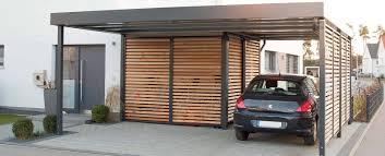 moderne garage u0026 schuppen bilder carport mit integriertem