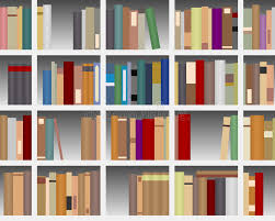 modern white bookcase stock vector image of education 22216518