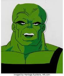 incredible hulk leader hulk production cel animation