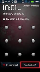 unlock pattern lock android phone software solved forgotten the password of the lock screen