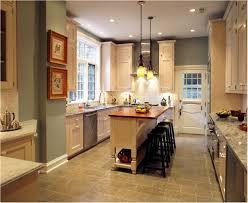 kitchen best narrow kitchen island beautiful overhead lighting