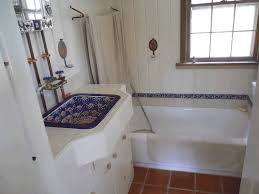 mexican style bathrooms imported mexican tile bathroom with