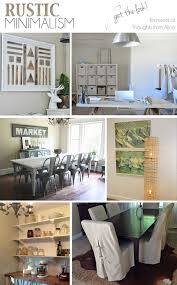Modern Rustic Home Decor Rustic Minimalism Get The Look Sundays At Home No 22 Link Party