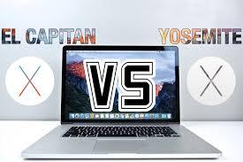 Computerm El Os X El Capitan Vs Yosemite Speed Test Is It Faster Youtube