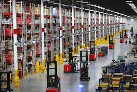 amazon warehouse black friday a first look inside amazon u0027s gleaming gigantic warehouse in fall