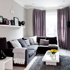 Purple Grey Curtains White Kitchen Table Set Purple And Gray Living Room Curtains