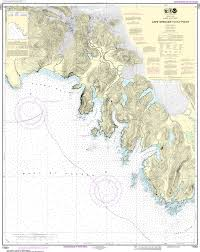 Southeast Alaska Map Us Charts Southeast Alaska Captain U0027s Supplies
