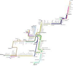 Benidorm Spain Map by Renfe Rail Network Map