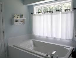 Modern Bathroom Window Curtains Interior Bathroom Window Decor Blinds Half Curtains Interior