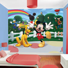 mickey mouse clubhouse bedroom mickey mouse clubhouse wallpaper by walltastic great
