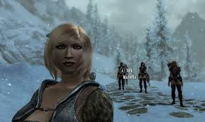 nord follower michelle at skyrim nexus mods and community