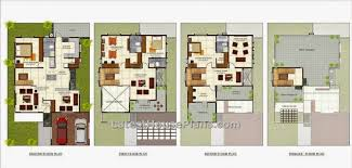villa home plans floor plan for villa house adhome