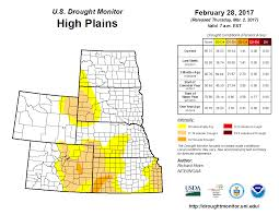 Map Of Wyoming And Colorado by Drought February 2017 State Of The Climate National Centers
