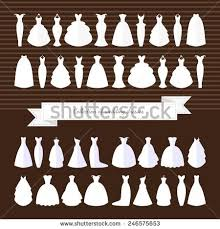 wedding dress type wedding dress silhouette stock images royalty free images