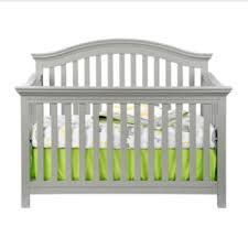 Grey Convertible Cribs Jcp Rockland Portland Convertible Crib Moon Grey Nursery