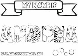 printable coloring pages of your name andrea coloring page andrea pinterest