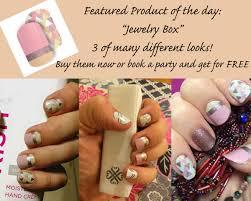 jewelry box nail art wraps by jamberry nails pinterest