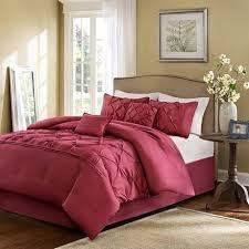 Home Essence Comforter Set Amazon Com Home Essence Savoy 6 Piece Comforter Set Red Full