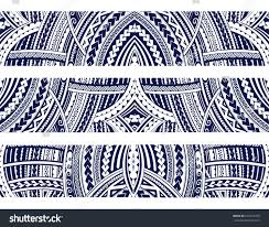 set maori style ornaments ethnic themes stock vector 631607705